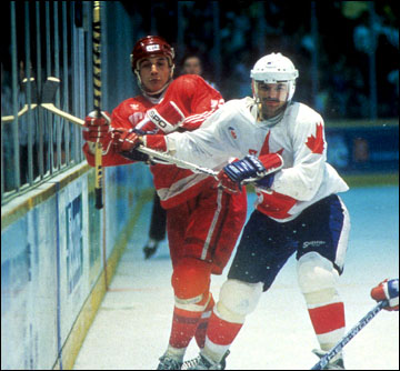Кубок Канады-1987. Канада — СССР. Валерий Каменский