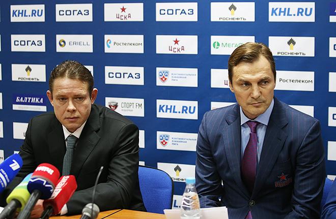 Павел Буре и Сергей Фёдоров