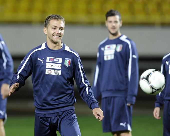 Доменико Кришито снова в сборной Италии
