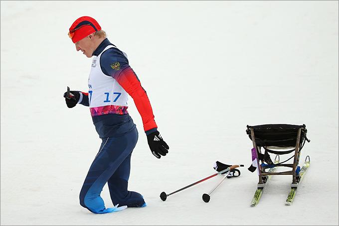 Бронзовый медалист Паралимпиады в Сочи Александр Давидович