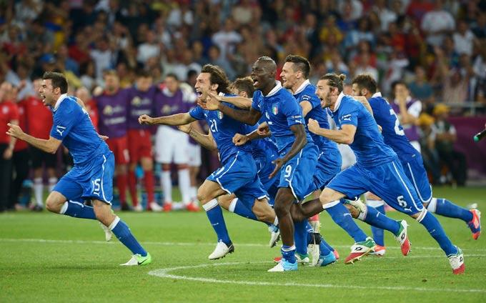 Сборная Италии вышла в полуфинал Евро