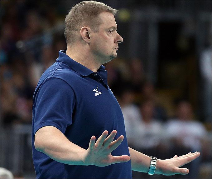 Спокойствию Владимир Алекно на протяжении всей Олимпиады можно было только позавидовать