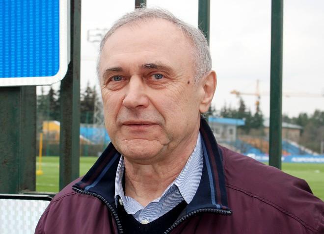 Олег Долматов на стадионе «Октябрь» в Москве