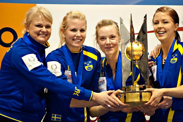 Сборная Швеции — чемпион мира-2011 по кёрлингу