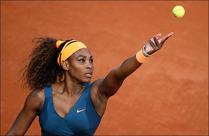 Серена Уильямс легко вышла в четвертьфинал