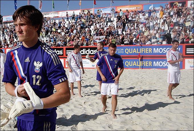 Три вратаря сборной России: Ипполитов, Бухлицкий и Леонов