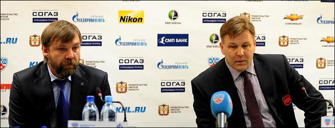 Послематчевая пресс-конференция главный тренеров
