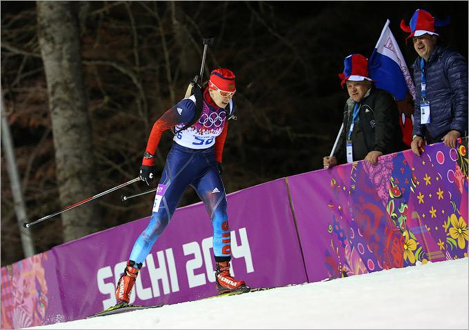 Ольга Вилухина — вторая в женском спринте!