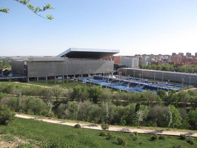 Вид на мадридский комплекс
