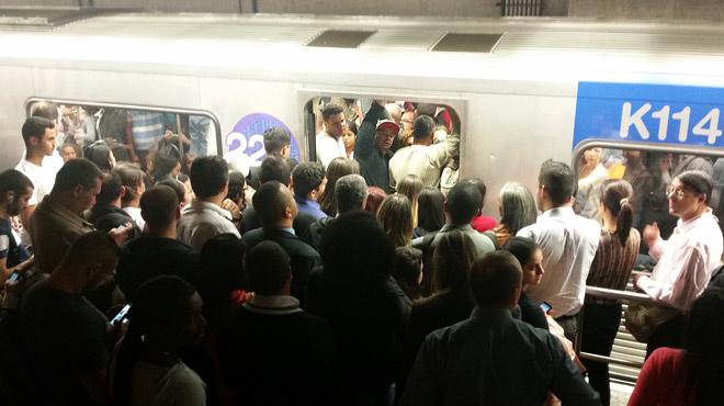 «Нам довелось побывать в подземке Сан-Паулу, и мы не могли не отметить: она тут очень приличного уровня»