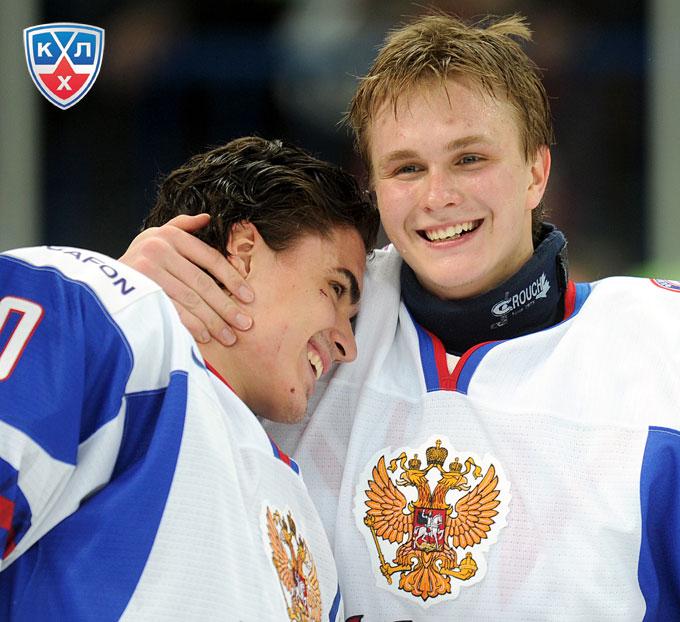 Наиль Якупов и Андрей Макаров