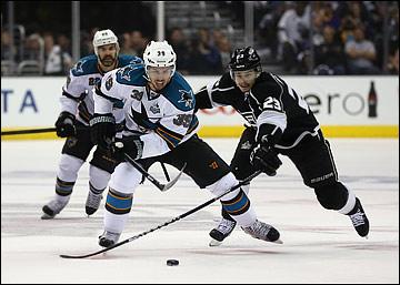 "29 мая 2013 года. Лос-Анджелес. Плей-офф НХЛ. 1/4 финала. Матч № 7. ""Лос-Анджелес"" — ""Сан-Хосе"" — 2:1"