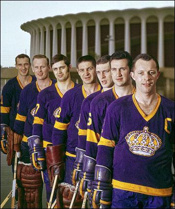 """""""Лос-Анжелес Кингз"""": рекламные проспекты к вступлению в НХЛ"""