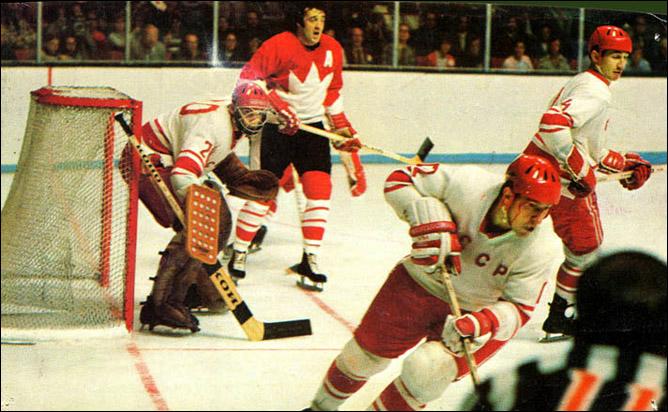 Топ-100 историй ИИХФ. История № 55. Третьяк - первый европеец в Зале Славы НХЛ. Фото 01.