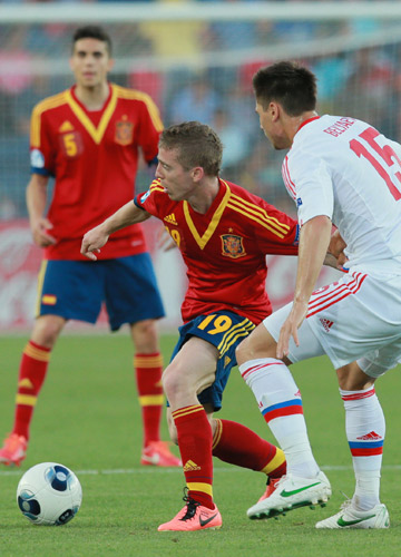 Евро—2013 (U-21) Испания — Россия. Икер Муньяин против Максима Беляева