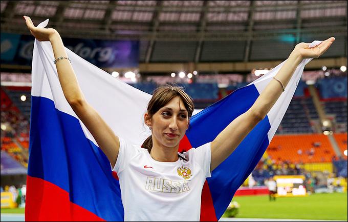 Екатерина Конева выиграла серебро в тройном прыжке