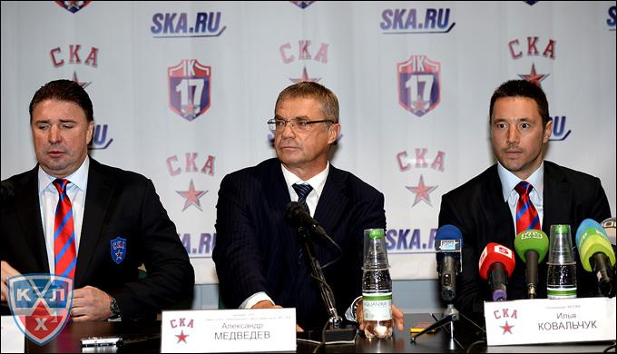Алексей Касатонов, Александр Медведев и Илья Ковальчук