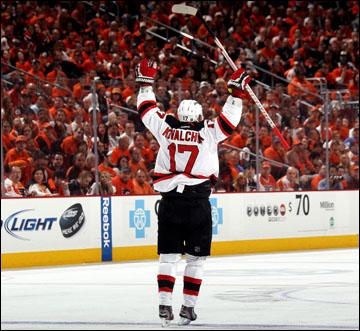 """9 мая 2012 года. Филадельфия. Плей-офф чемпионата НХЛ. 1/4 финала. """"Филадельфия Флайерз"""" — """"Нью-Джерси Девилз"""" — 1:3"""