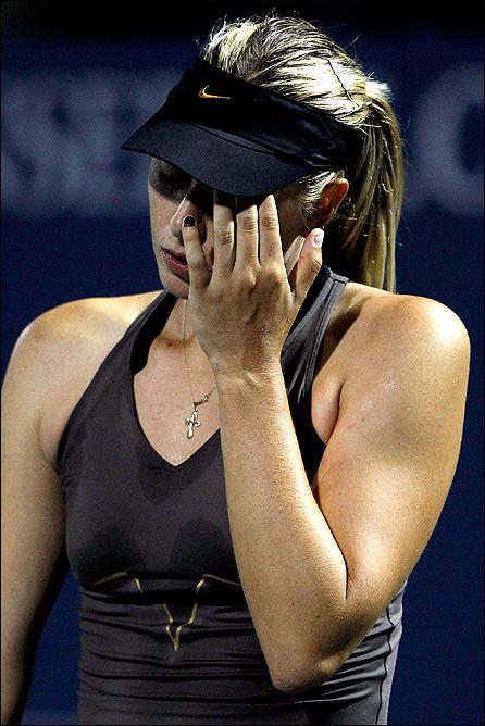 Мария легко уступила Серене в четвертьфинале Стэнфорда