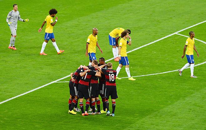Матч Бразилия — Германия стал самым запоминающимся на ЧМ-2014
