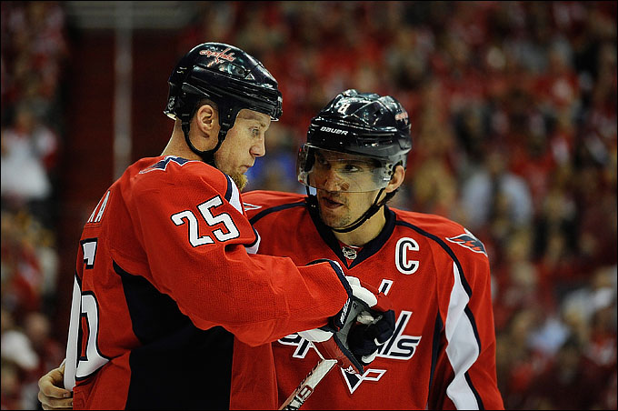 "17 апреля 2012 года. Вашингтон. Плей-офф НХЛ. 1/8 финала. ""Вашингтон Кэпиталз"" — ""Бостон Брюинз"" — 3:4"