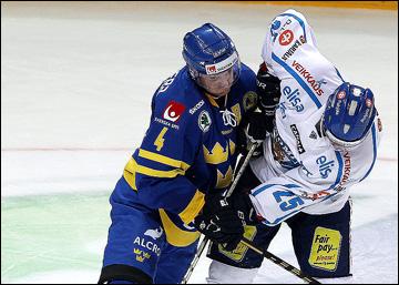 Стаффан Кронвалль в сборной Швеции на Кубке первого канала