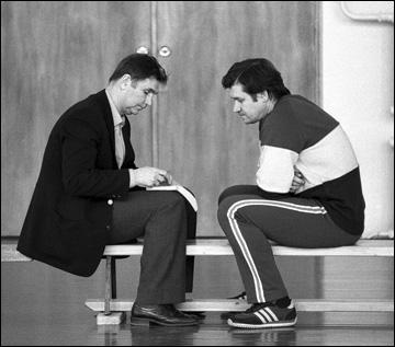Виктор Тихонов и Владимир Юрзинов