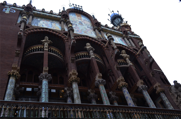 Дворец каталонской музыки – одна из главных достопримечательностей города