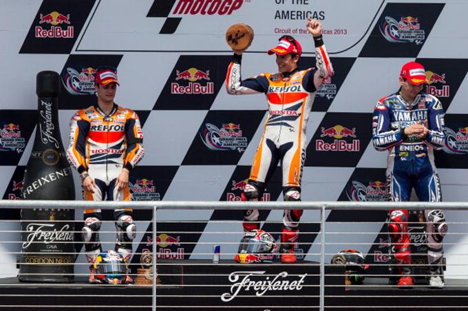 Марк Маркес — победитель Гран-при Америки MotoGP