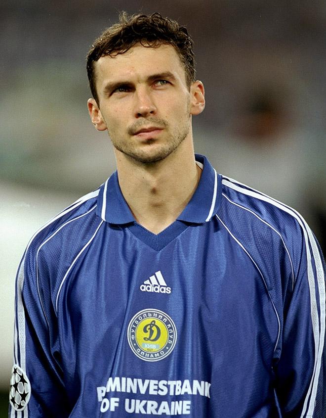Владислав Ващук времён выступлений за киевское «Динамо»
