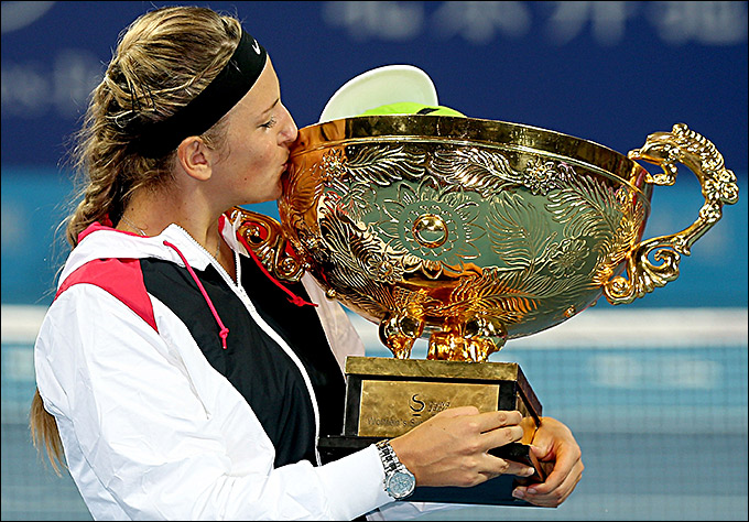 Виктория Азаренко стала чемпионкой крупного турнира в Пекине