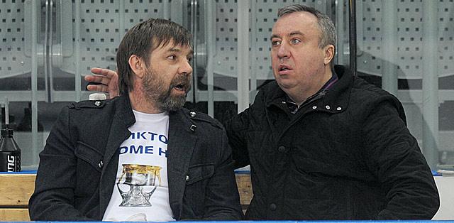 Олег Знарок и Андрей Сафронов