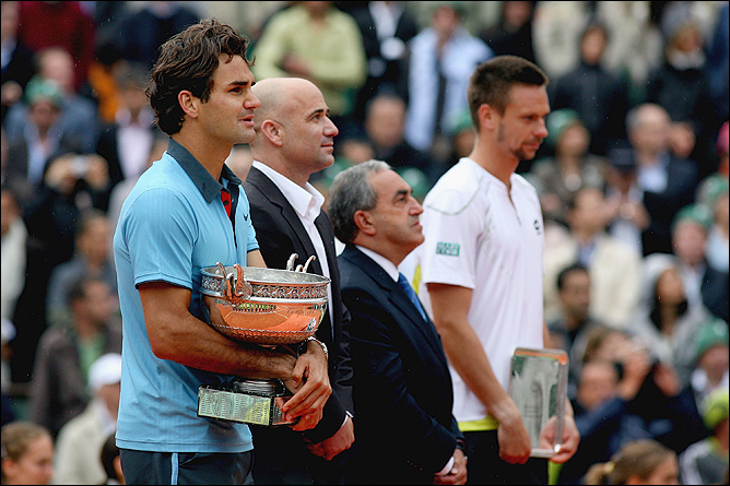 """Роджер Федерер наконец-то собрал """"Карьерный шлем"""""""
