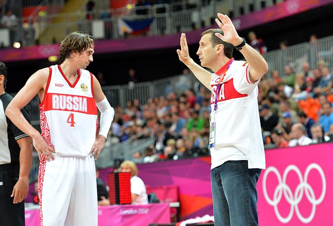 Лондон-2012. Баскетбол. Мужчины. Дэвид Блатт