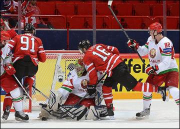 10 мая 2013 года. Стокгольм. Чемпионат мира. Групповой этап. Белоруссия — Канада — 1:4