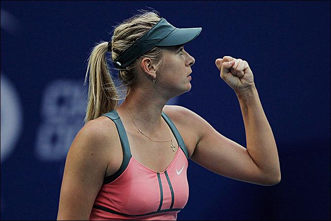 Мария Шарапова дошла до финала Пекина