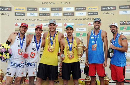 Призёры Moscow Grand Slam-2011