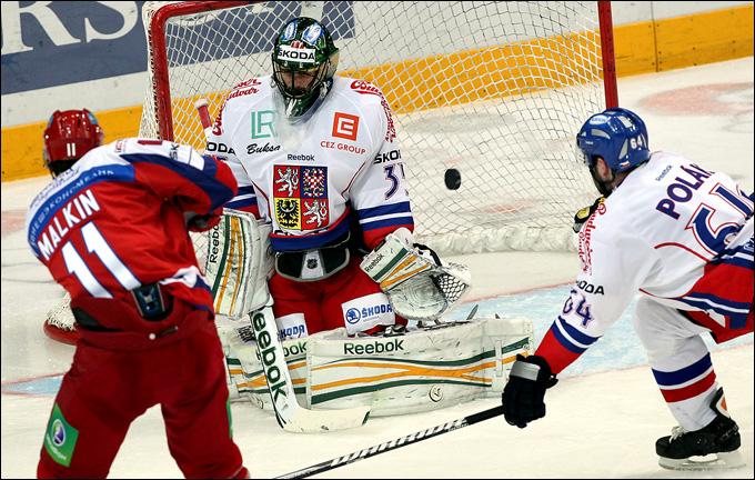 Евгений Малкин против сборной Чехии