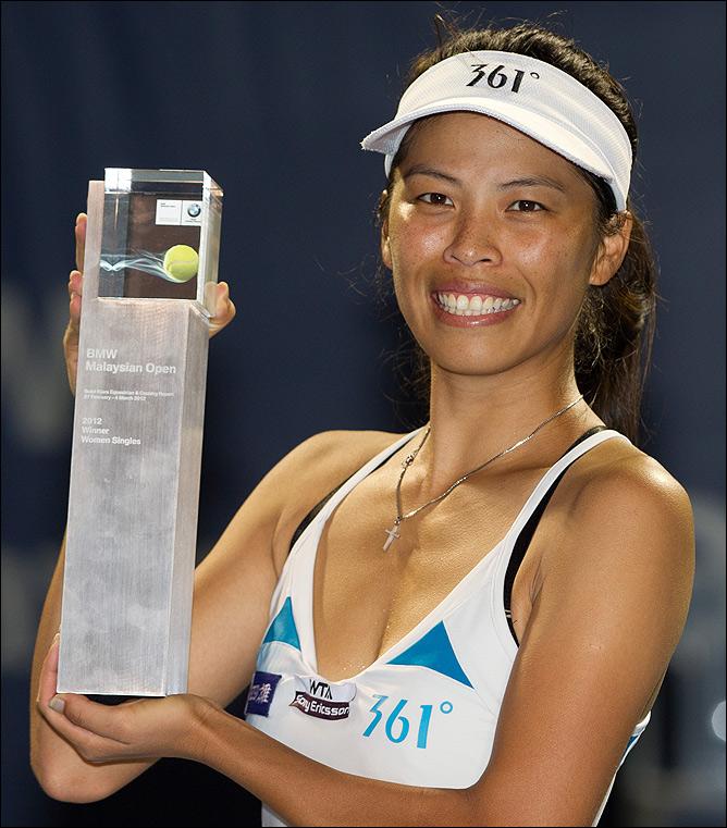 Су-Вей Хсиех победила в Малайзии