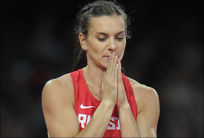 Елена Исинбаева не смогла выиграть золотую медаль Лондона