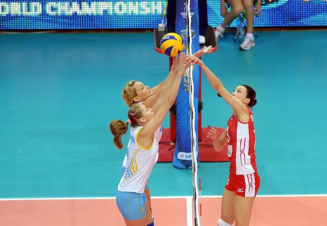 Связующая сборной России Евгения Старцева