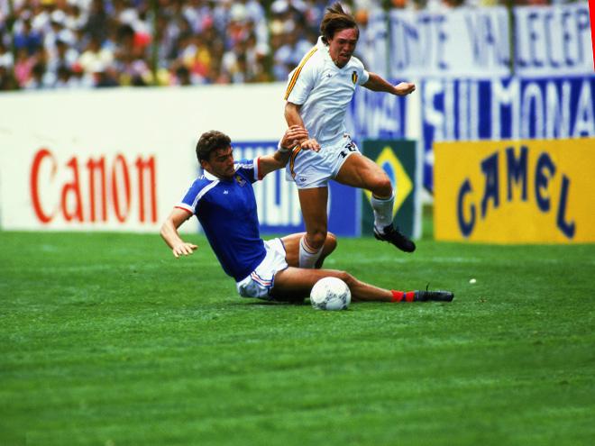 ЧМ-1986. Франция – Бельгия