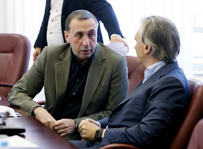 Александр Дюков с Евгением Гинером