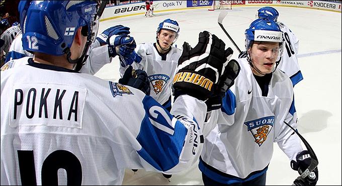 30 декабря 2013 года. Мальмё. Молодежный чемпионат мира. Групповой этап. Россия — Финляндия — 1:4
