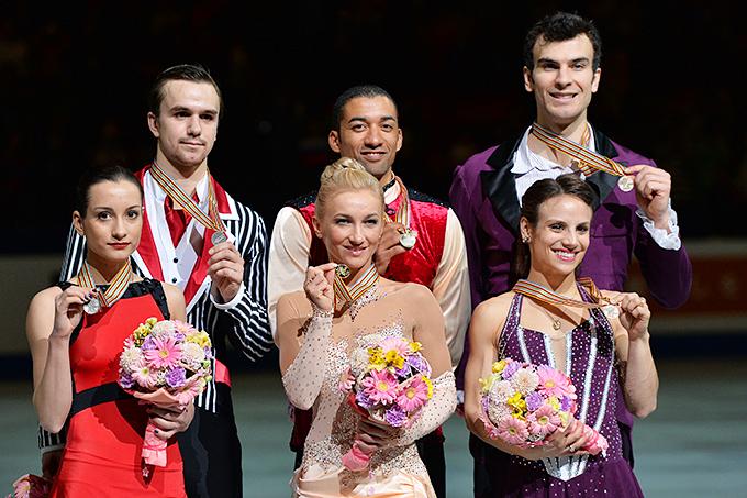 Призёры чемпионата мира-2014 в соревнованиях спортивных пар