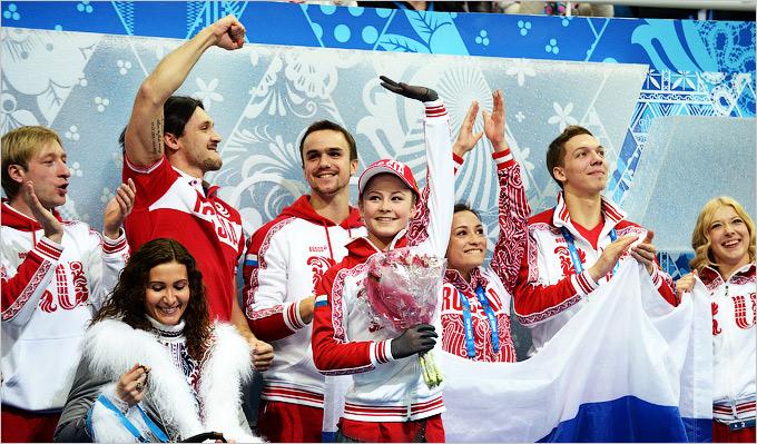 После выступления Юлии Липницкой золото было гарантировано