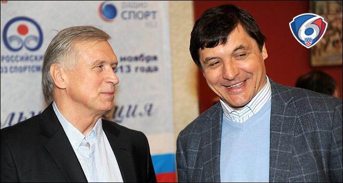 Владимир Лутченко и Валерий Каменский