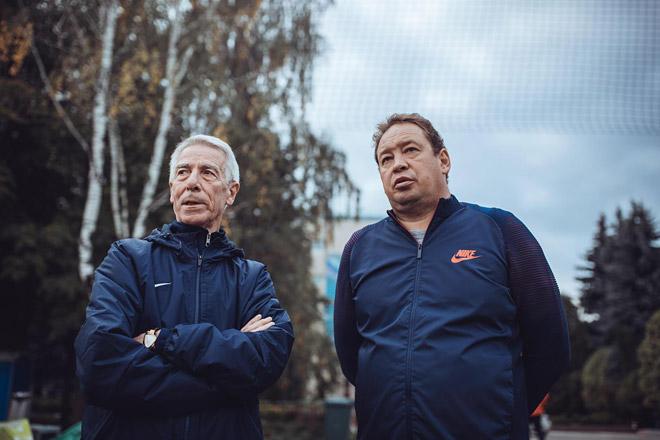 Валерий Непомнящий и Леонид Слуцкий