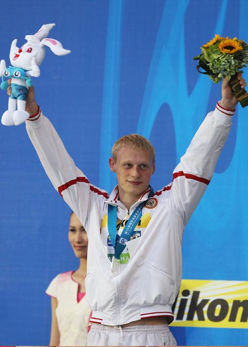 20-летний Илья Захаров увёз из Шанхая два серебра