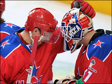 Павел Дацюк и Растислав Станя